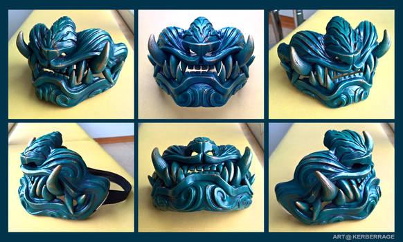 Tiger half mask