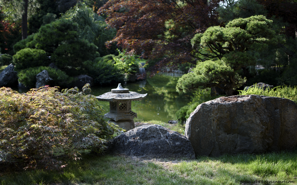 Oriental Garden by nemesis158
