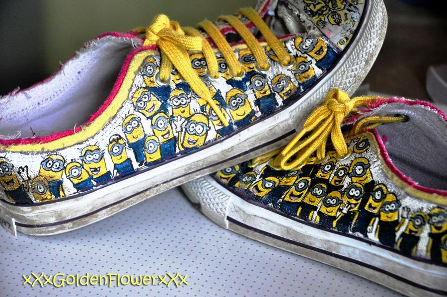 Minion Shoes! by xXxGoldenFlowerxXx