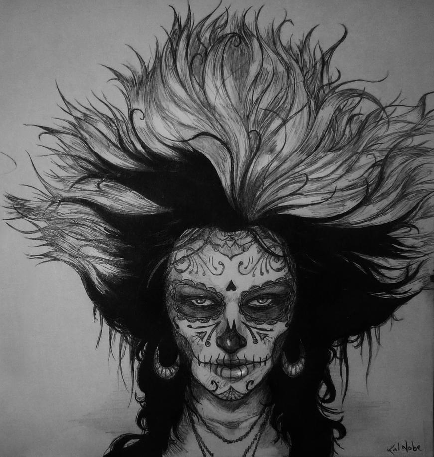 Dia de los Muertos - Katrina by kalnobe