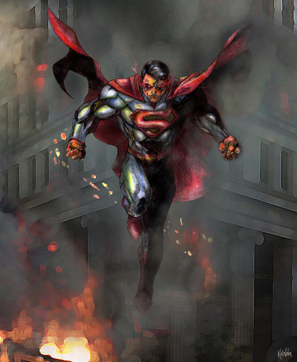 Man of Steel by kalnobe