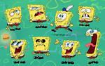 Lots of Spongy Fellas