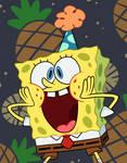 Birthday sponge