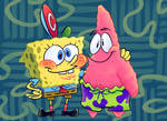 Spongeboy and his pal Patrick