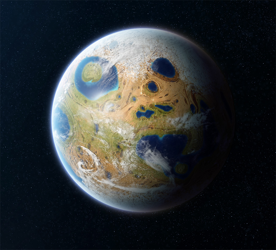 habitable Planet by Project-90 on DeviantArt