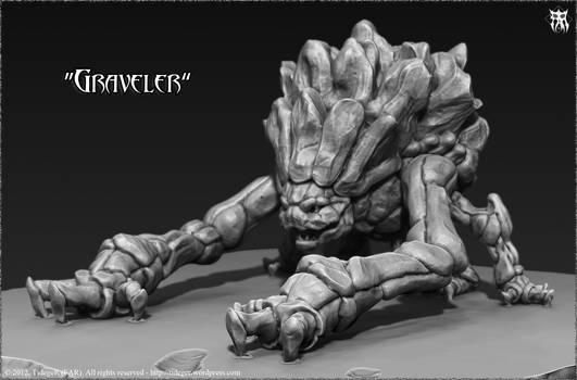 Graveler 3D (Pokemon)