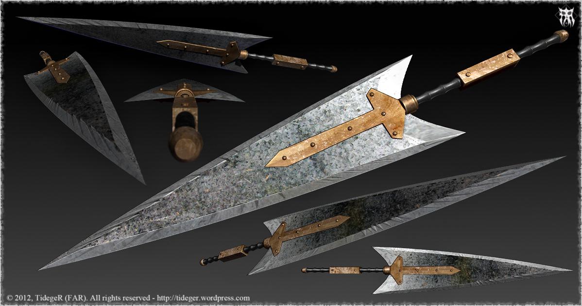 Iron Sword by Tideger