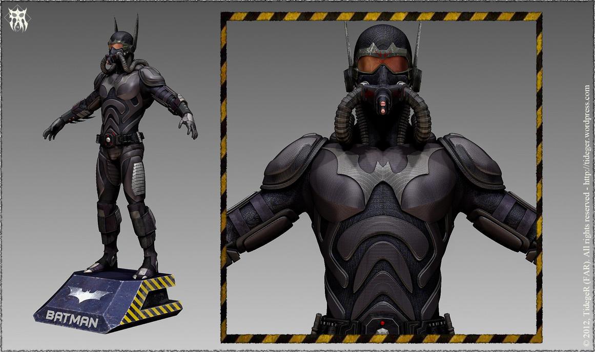 Batman [personal concept] by Tideger