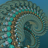 Turquoise Tendrils by DeirdreReynolds
