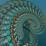 Turquoise Tendrils