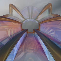 Glass Corridor by DeirdreReynolds