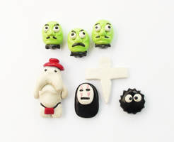 Spirited Away Magnet Set
