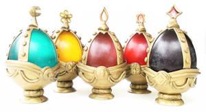 Complete set of Madoka Magica Soul Gems