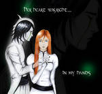 Ulquiorra and Orihime by CLeigh-Cosplay