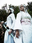 Ulquiorra and Sode No Shirayuki Cosplay by CLeigh-Cosplay