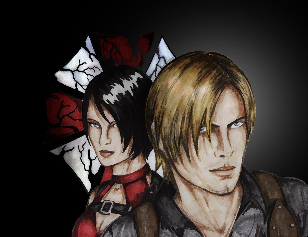 Leon + Ada by CLeigh-Cosplay
