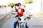 Claire Redfield Code Veronica Cosplay 6 by SoCourtneyLeigh