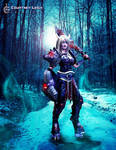 Draenei Cosplay 1 by CLeigh-Cosplay