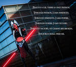 Darth Moros and the Sith Code by CLeigh-Cosplay