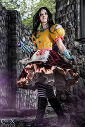 Alice Madness Returns Misstitched by CLeigh-Cosplay