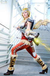 Healing Stream Engaged by CLeigh-Cosplay