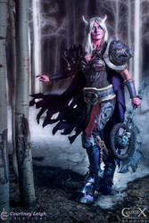 Draenei Death Knight Cosplay by CLeigh-Cosplay