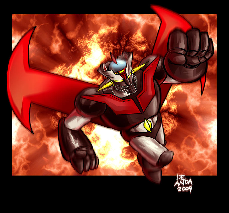 MAZINGER Z by chachaman