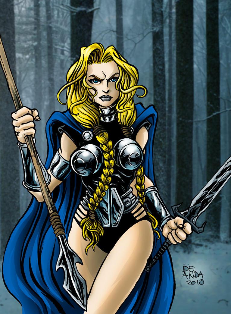 mujeres de marvel