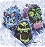 evil warriors sketch