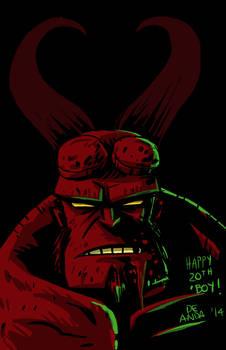 happy 20th Anniversary, Hellboy!