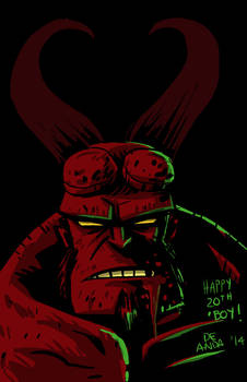 happy 20th Anniversary, Hellboy!
