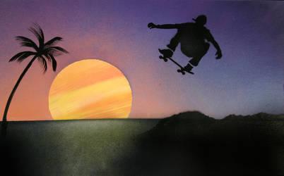 Sunset Skater