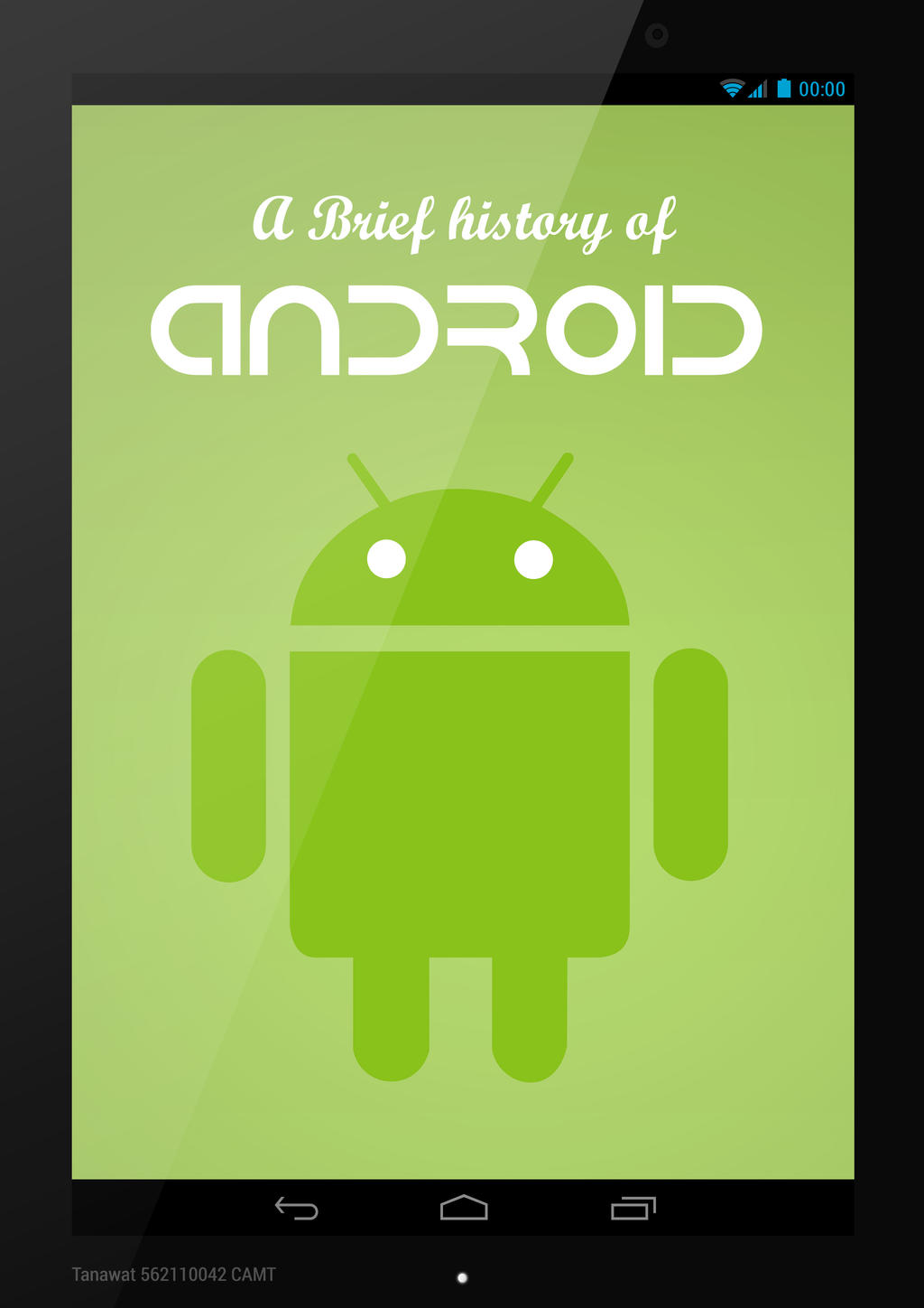 A Brief History of Android  E-Magazine Page 00 by kopskyz