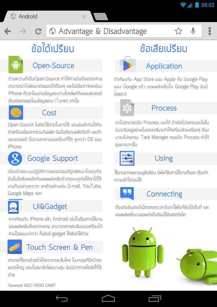 A Brief History of Android  E-Magazine Page 03 by kopskyz