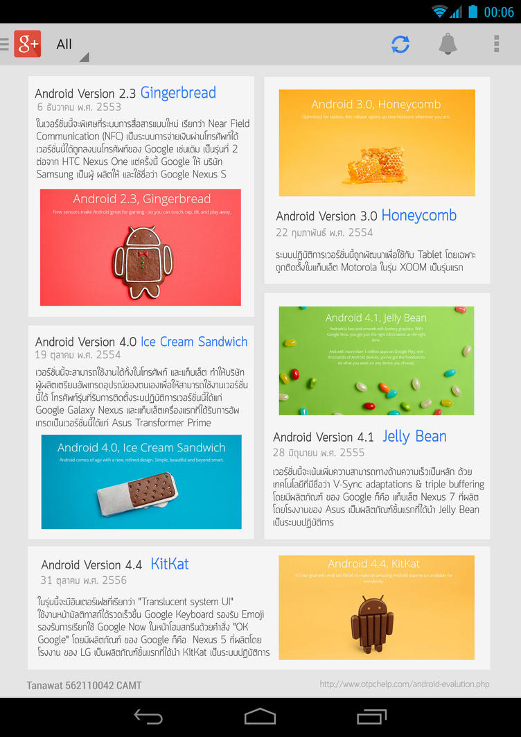A Brief History of Android  E-Magazine Page 06 by kopskyz