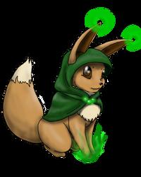 Eevee Druid by myrnnecromanson