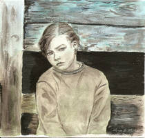 Little girl by oxalysa