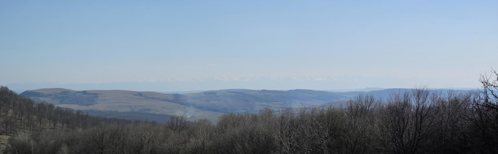 Panoramic view in April by Goppo713