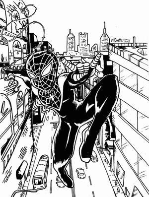 Spider-Man Ink by ShadowGoethe