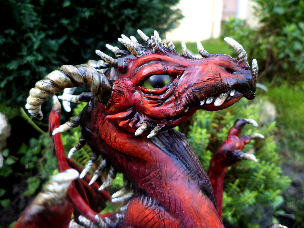 Dragon head by WolfGrin1