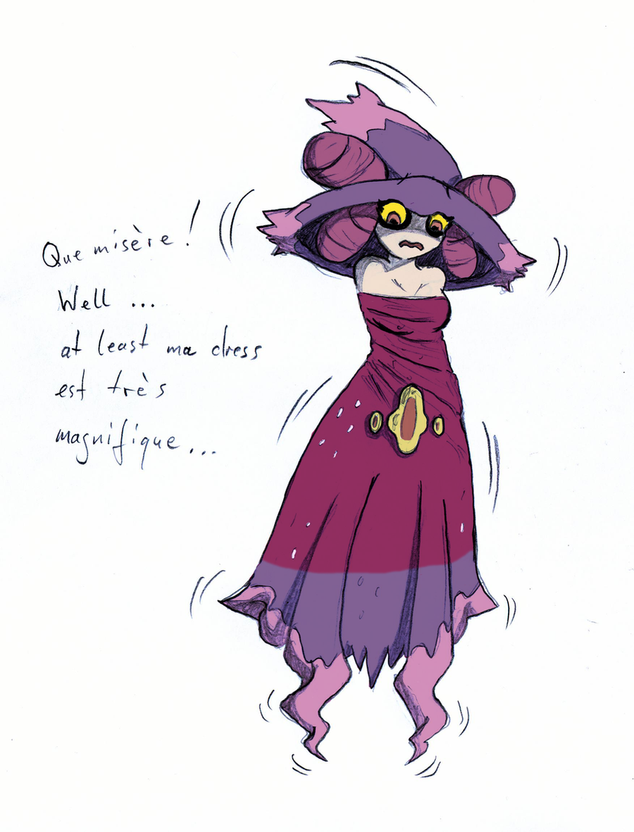 Fantina to Mismagius -color- by AxelD on DeviantArt