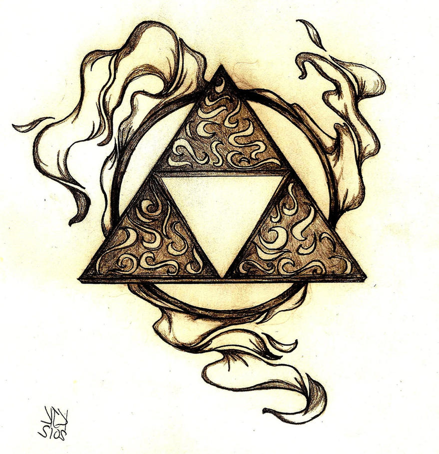 Triforce tattoo designs by dimebagdazz on deviantart - Triforce