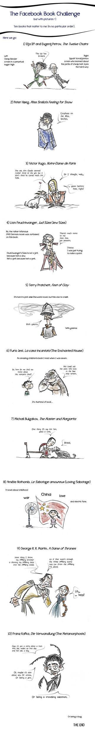 Book Challenge by eeza