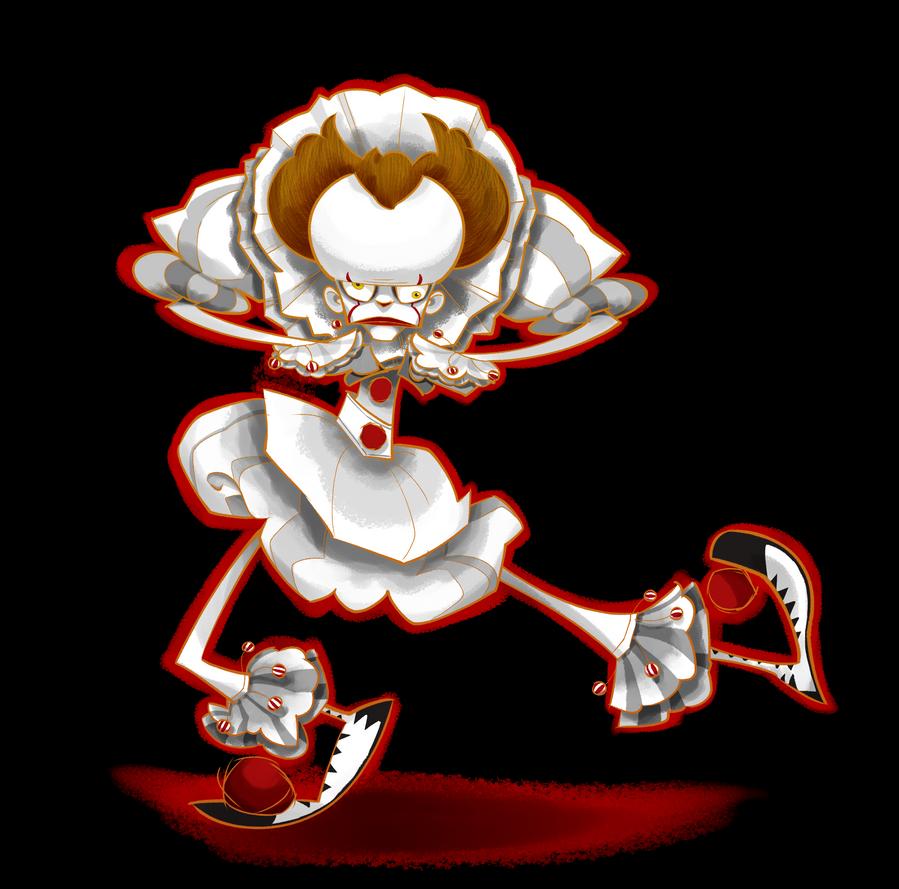 The Dancing Clown by eeza