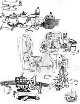 Life Drawing Mish-Mash