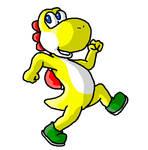 Yellow Yoshi