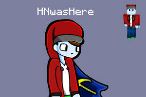 My Christmas Minecraft skin drawing by InfamousHN