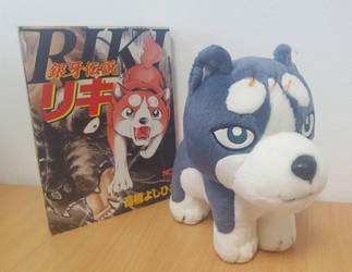 My Ginga Gin plush arrived  by RiKyy