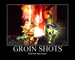 Groin Shots by LuxArcanis