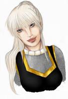 Isira Rondralieb.... portrait by Yako
